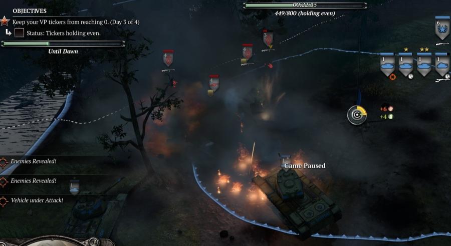Brody Tank War night attack